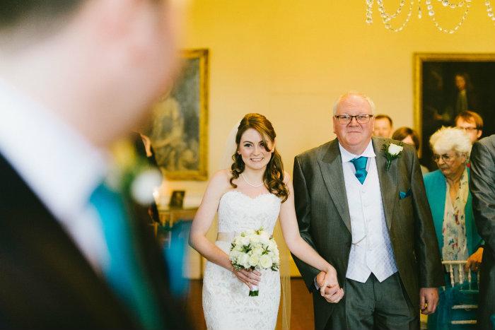 A true 'Look of Love' as vicky walks towards Steve