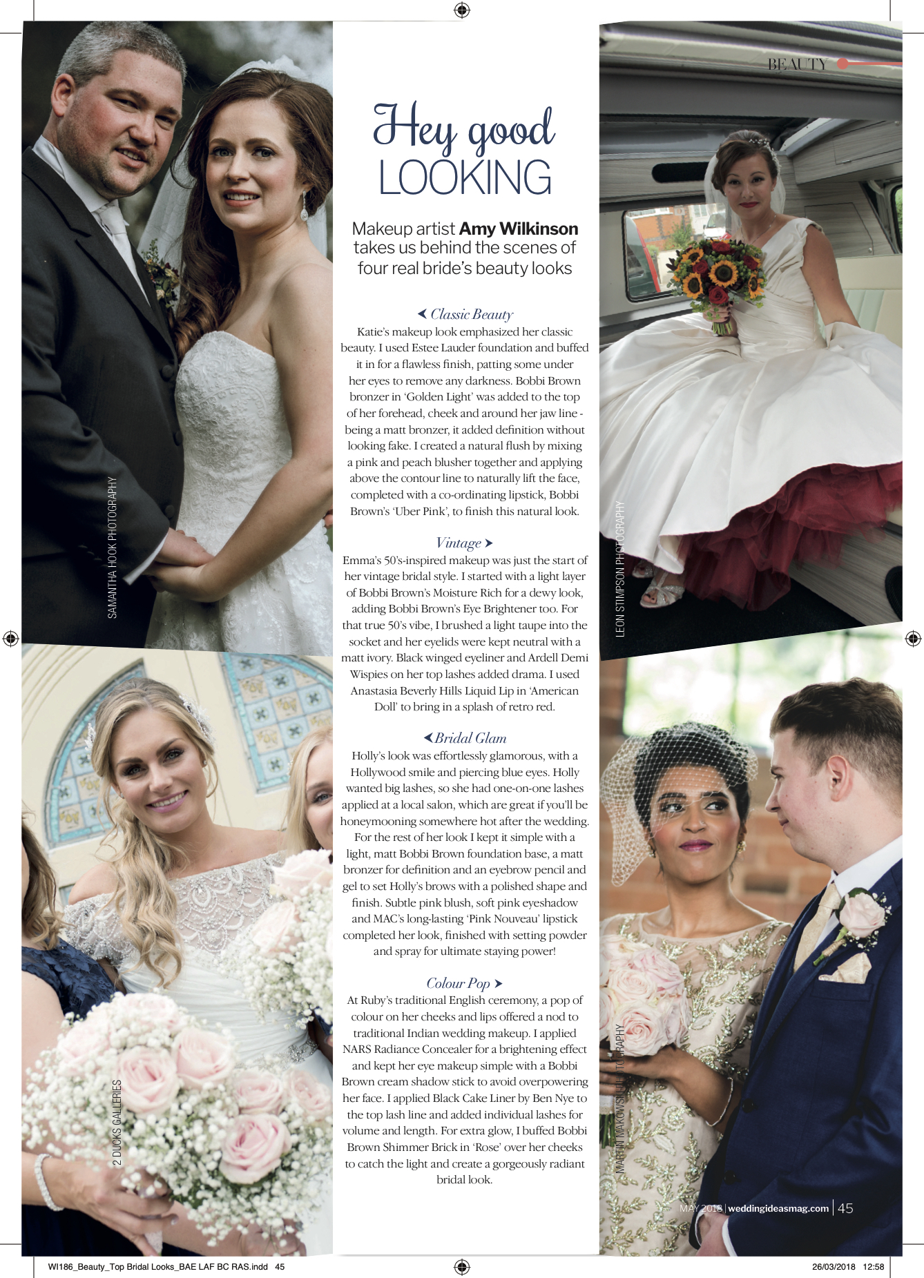 Hey Good Looking Real Brides Feature Wedding Ideas Magazine Amy L Wilkinson